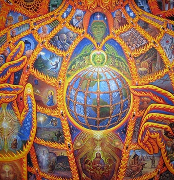 Pin by andrew milligan on ART VISIONARY Alex Gray Pinterest