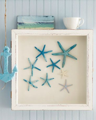 Nautical Home Decor Ideas Beach Inspired Craft Projects All Things Heart and Home