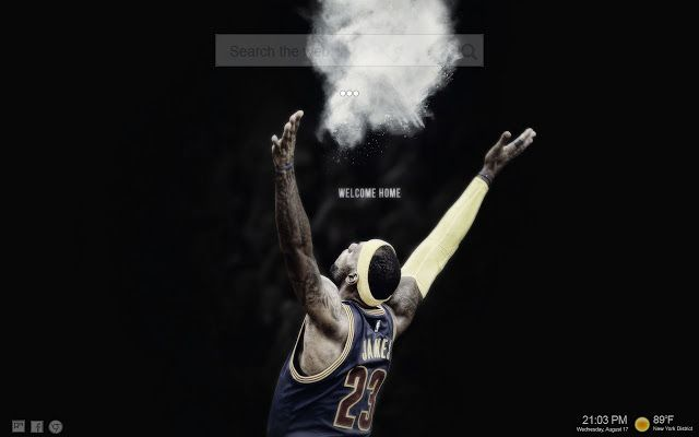 Catch the Beautiful Lebron James King Wallpaper