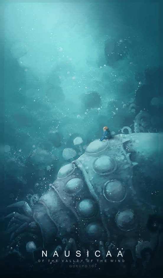 Studio Ghibli mobile wallpaper series Imgur