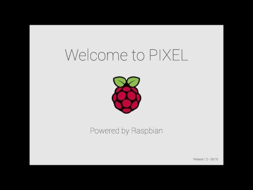 PIXEL represents our best guess as to what the majority of users are looking for in a desktop environment a clean modern user interface a curated suite