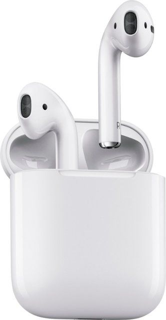 Apple AirPods White Angle Zoom 1 of 1