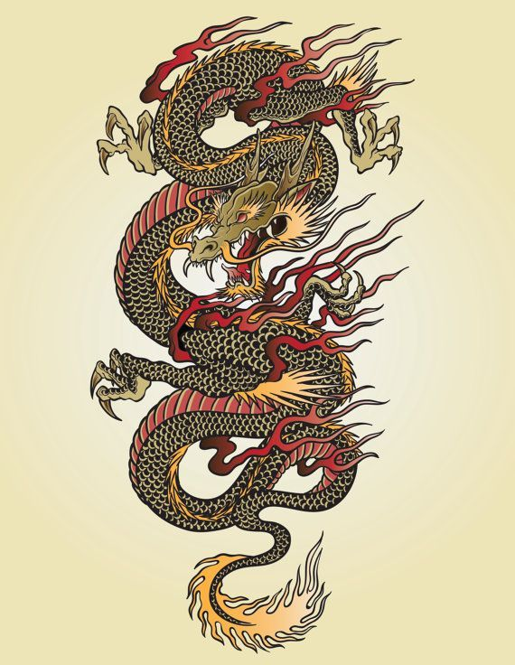 Collect the Shocking asian Dragon Wallpapers