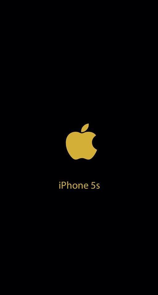 Iphone 5 Wallpaper Apple Gold Logo Iphone 5s Wallpaper