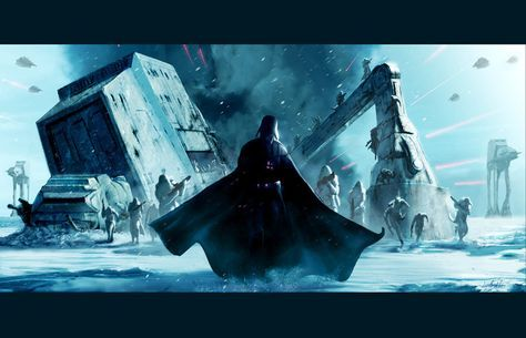 Find the Fresh Star Wars Battle Of Hoth Wallpaper