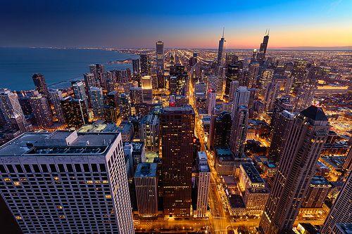Chicago Skyline [ New iPad Wallpaper Download] Flickr 500x333