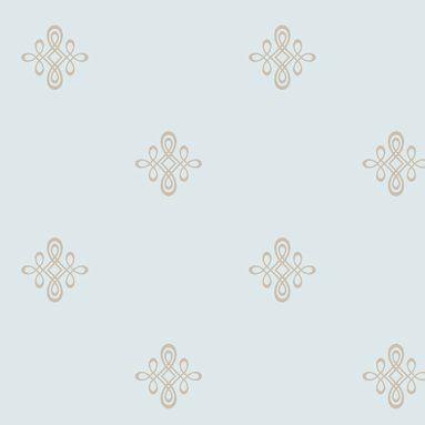 "Candice Olson II Medallion 27 x 27"" Geometric Wallpaper"