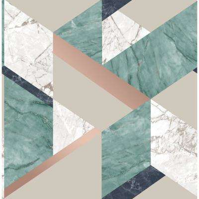 Get the Unique Teal Marble Background