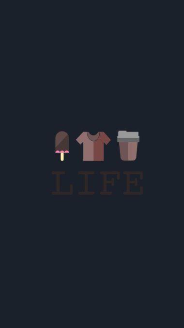 Life Minimalism Image Wallpaper 1080x1920 380x676