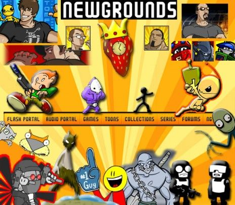 See the Suprising Newgrounds Wallpaper