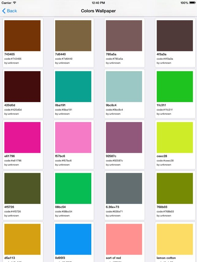 Color Wallpaper Solid Backgrounds For iPhone And iPad on the App Store